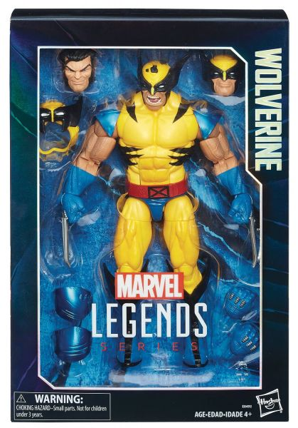 MARVEL 30 cm LEGENDS WOLVERINE ACTIONFIGUR