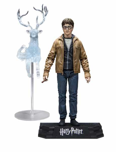 HARRY POTTER DEATHLY HALLOWS PART 2 HARRY 17,5 cm ACTIONFIGUR