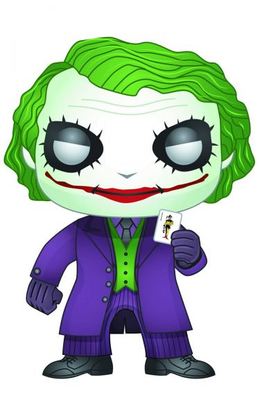 POP DARK KNIGHT JOKER VINYL FIGUR defekte Verpackung