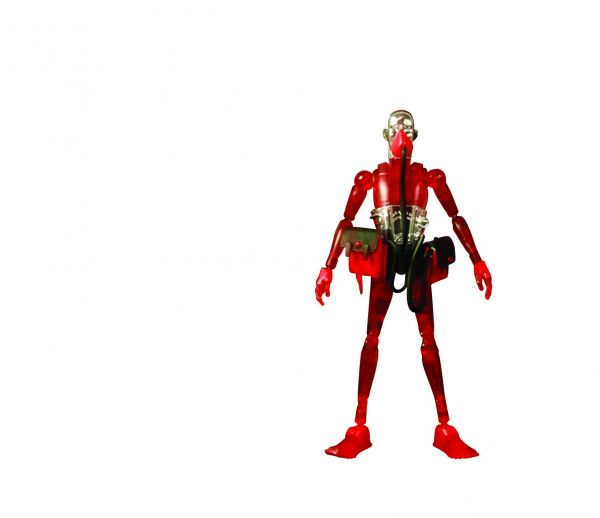 3A STRING DIVER SD09 GUY RED VERSION 1/12 ACTIONFIGUR