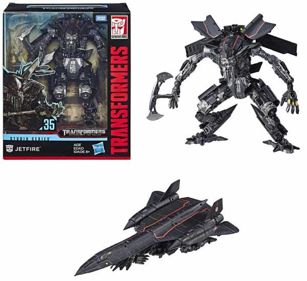 TRANSFORMERS GENERATIONS STUDIO SERIES LEADER CLASS JETFIRE ACTIONFIGUR