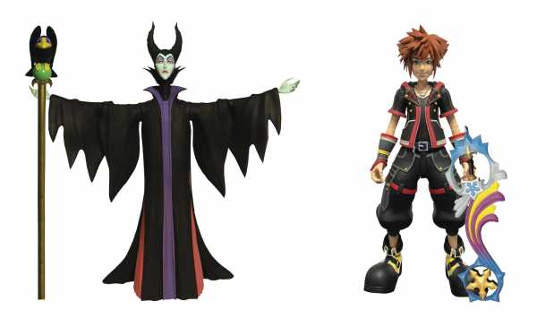 KINGDOM HEARTS 3 SELECT MALEFICENT & SORA ACTIONFIGUR