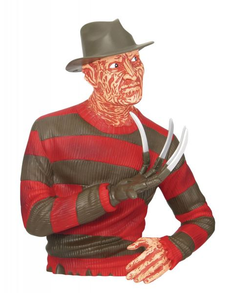 NIGHTMARE ON ELM STREET FREDDY KRUEGER PVC SPARDOSE