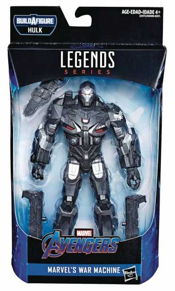 AVENGERS 4 LEGENDS WAR MACHINE 15 cm ACTIONFIGUR