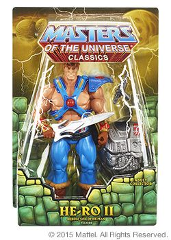 Masters of the Universe® He-Ro II ACTIONFIGUR