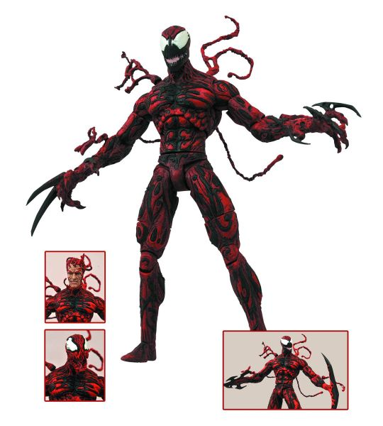 MARVEL SELECT CARNAGE ACTIONFIGUR