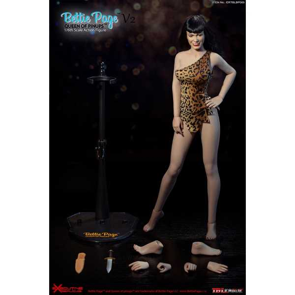 VORBESTELLUNG ! Bettie Page Queen of Pin-Ups 1:6 Scale Actionfigur