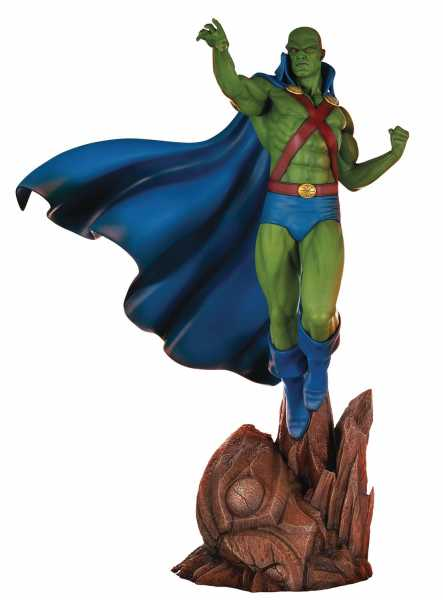 DC SUPER POWERS COLLECTION MARTIAN MANHUNTER 45 cm MAQUETTE