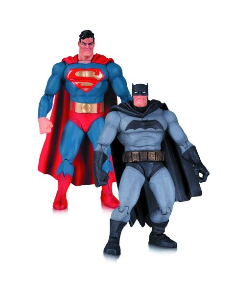 DARK KNIGHT RETURNS 30TH ANNIVERSARY ACTIONFIGUREN-SET