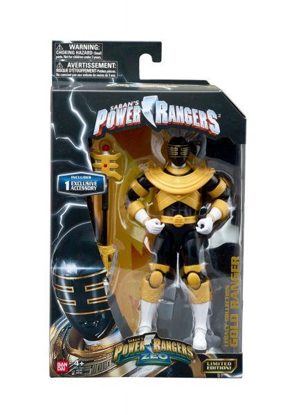 POWER RANGERS LEGACY ZEO GOLD RANGER ACTIONFIGUR