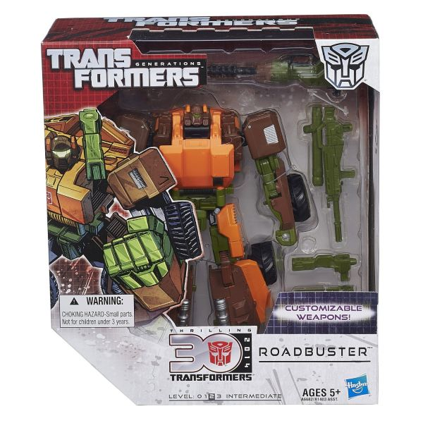 TRANSFORMERS GENERATIONS VOYAGER ROADBUSTER ACTIONFIGUR