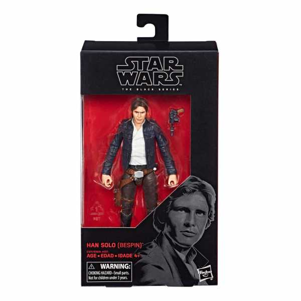 STAR WARS BLACK SERIES EPISODE 5 HAN SOLO BESPIN 15 cm ACTIONFIGUR