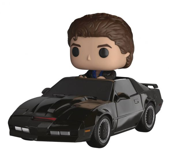 POP RIDE KNIGHT RIDER MICHAEL KNIGHT WITH KIT VINYL FIGUR