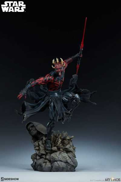 VORBESTELLUNG ! Star Wars Mythos Darth Maul 60 cm Statue