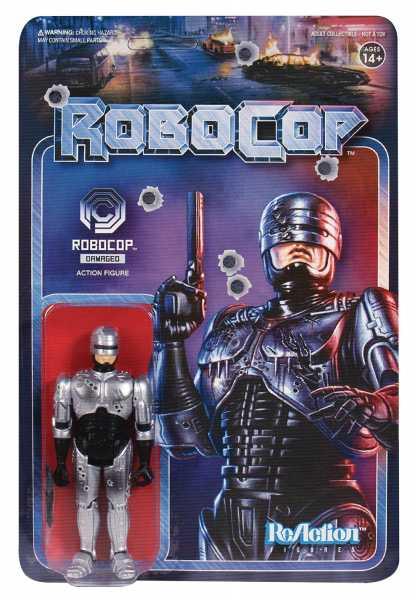 ROBOCOP BATTLE DAMAGED ROBOCOP REACTION FIGUR