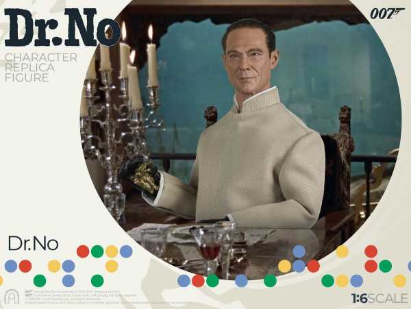 VORBESTELLUNG ! James Bond - 007 jagt Dr. No Collector Figure Series Actionfigur 1/6 Dr. No Limited