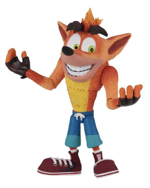 CRASH BANDICOOT ULTRA DELUXE CRASH ACTIONFIGUR