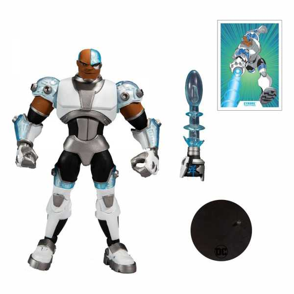DC Multiverse Animated Animated Cyborg 18 cm Actionfigur