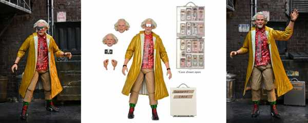 VORBESTELLUNG ! BACK TO THE FUTURE 2 DOC BROWN ULTIMATE 7 INCH ACTIONFIGUR