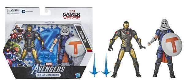Marvel Gamerverse Iron Man vs. Task Master 6 Inch Actionfiguren 2-Pack