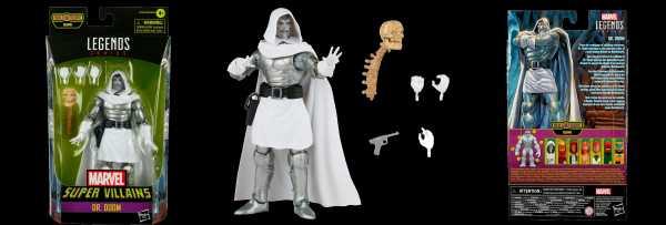 VORBESTELLUNG ! Marvel Legends Super Villains Dr. Doom 6 Inch Actionfigur
