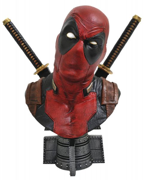 LEGENDARY COMICS MARVEL DEADPOOL 1/2 SCALE BÜSTE