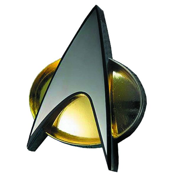 STAR TREK THE NEXT GENERATION COMMUNICATOR PIN REPLICA BLUETOOTH SPEAKER
