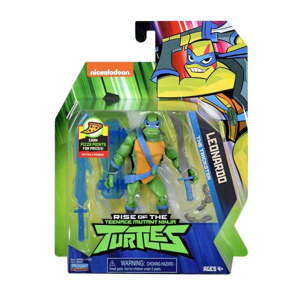RISE OF THE TEENAGE MUTANT NINJA TURTLES LEONARDO ACTIONFIGUR