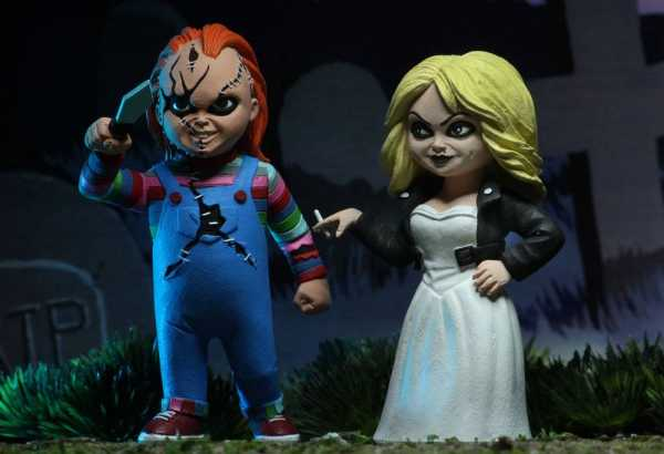 TOONY TERRORS BRIDE OF CHUCKY 6 INCH ACTIONFIGUREN 2-PACK
