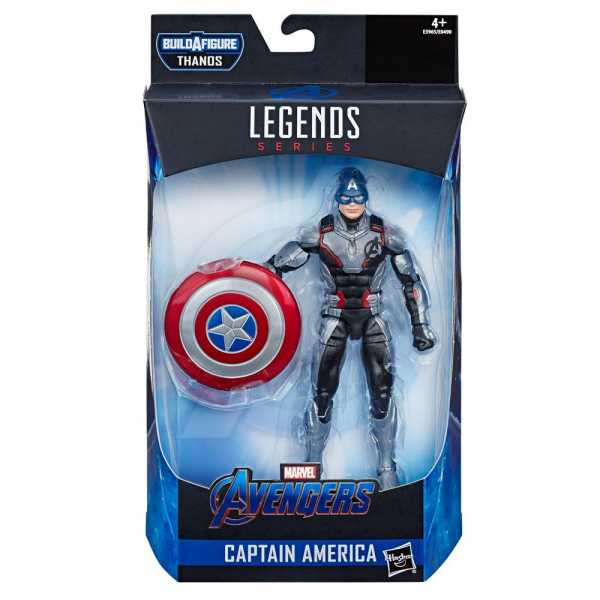 MARVEL LEGENDS AVENGERS WAVE 3 CAPTAIN AMERICA ENDGAME ACTIONFIGUR