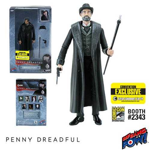 PENNY DREADFUL SIR MALCOLM MURRAY 15 cm ACTIONFIGUR CONVENTION EXCLUSIVE