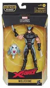 X-FORCE LEGENDS WOLVERINE 6INCH ACTIONFIGUR ohne BAF-Teil