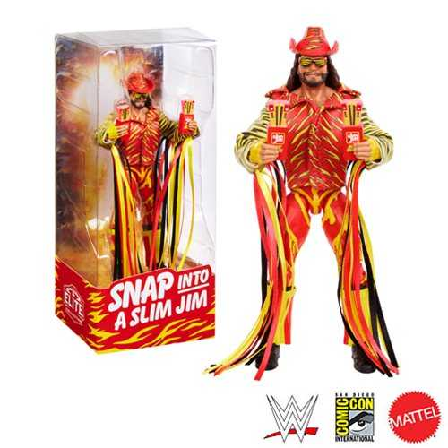 WWE ELITE COLLECTION MACHO MAN RANDY SAVAGE CONVENTION EXCLUSIVE ACTIONFIGUR