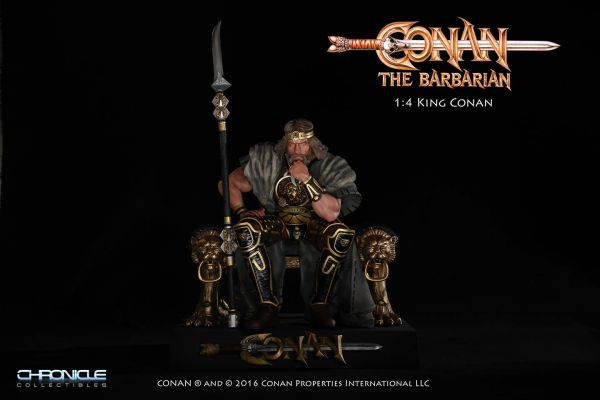 KING CONAN THE BARBARIAN 1/4 SCALE STATUE