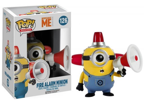 POP Despicable Me FIRE ALARM MINION