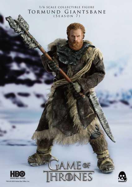 VORBESTELLUNG ! Game of Thrones 1/6 Tormund Giantsbane 31 cm Actionfigur