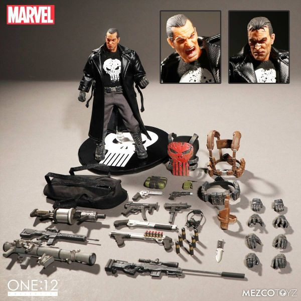 ONE-12 COLLECTIVE MARVEL PX PUNISHER DELUXE ACTIONFIGUR