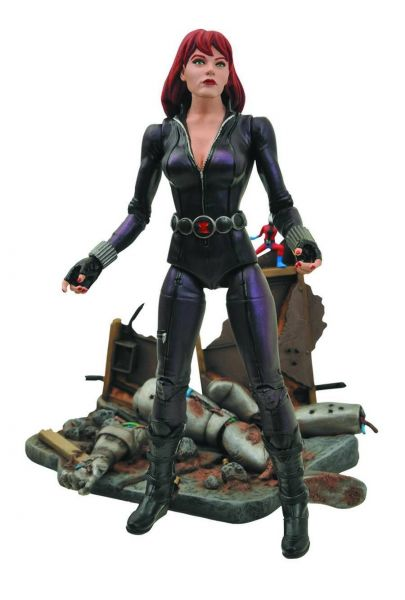 MARVEL SELECT BLACK WIDOW ACTIONFIGUR