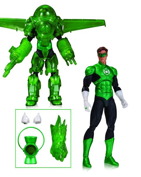 DC ICONS GREEN LANTERN HAL JORDAN DARK DAYS DLX ACTIONFIGUR