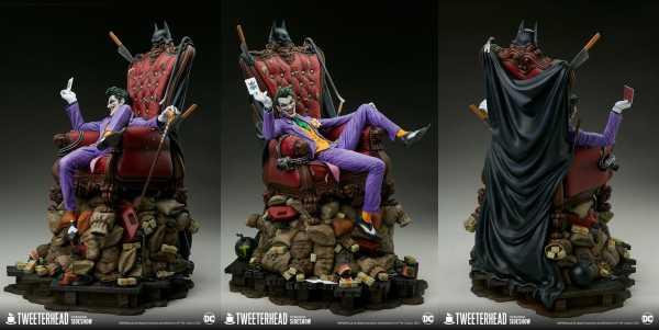AUF ANFRAGE ! DC Comics The Joker (Deluxe) 52 cm Maquette