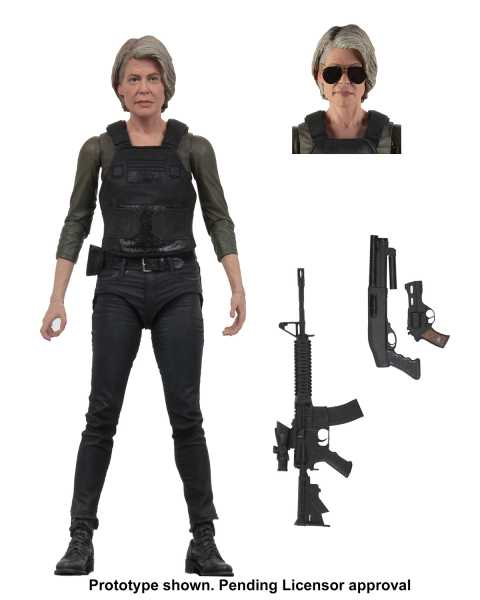 TERMINATOR DARK FATE SARAH CONNOR ULTIMATE 7INCH ACTIONFIGUR