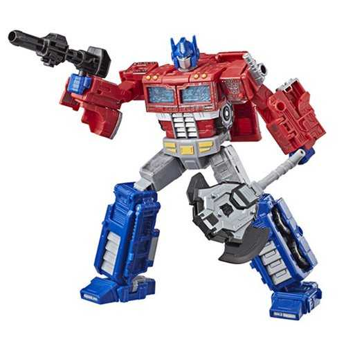 TRANSFORMERS GENERATIONS WAR FOR CYBERTRON: SIEGE VOYAGER OPTIMUS PRIME ACTIONFIGUR