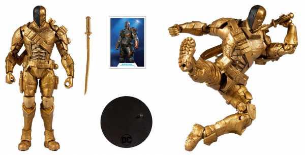 VORBESTELLUNG ! DC Gaming Arkham Knight Deathstroke18 cm Actionfigur