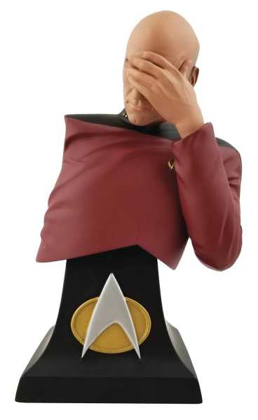 SDCC 2020 STAR TREK: TNG PICARD FACEPALM LIMITED EDITION BÜSTE