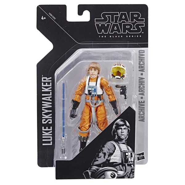 STAR WARS ARCHIVE LUKE SKYWALKER ACTIONFIGUR