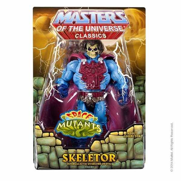 MASTERS OF THE UNIVERSE SKELETOR INTERGALACTIC OVERLORD OF EVIL