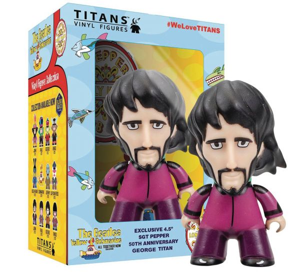 BEATLES TITANS SGT. PEPPER DISGUISE GEORGE 11,3 cm FIGUR