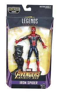 AVENGERS INFINITY WAR LEGENDS 15 cm IRON SPIDER ACTIONFIGUR