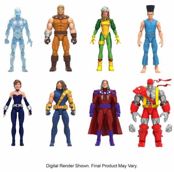 VORBESTELLUNG ! X-Men Age of Apocalypse Marvel Legends 6 Inch Actionfiguren Komplett-Set