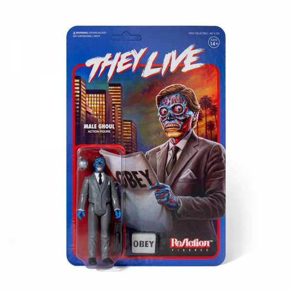 THEY LIVE MALE GHOUL REACTION FIGURE